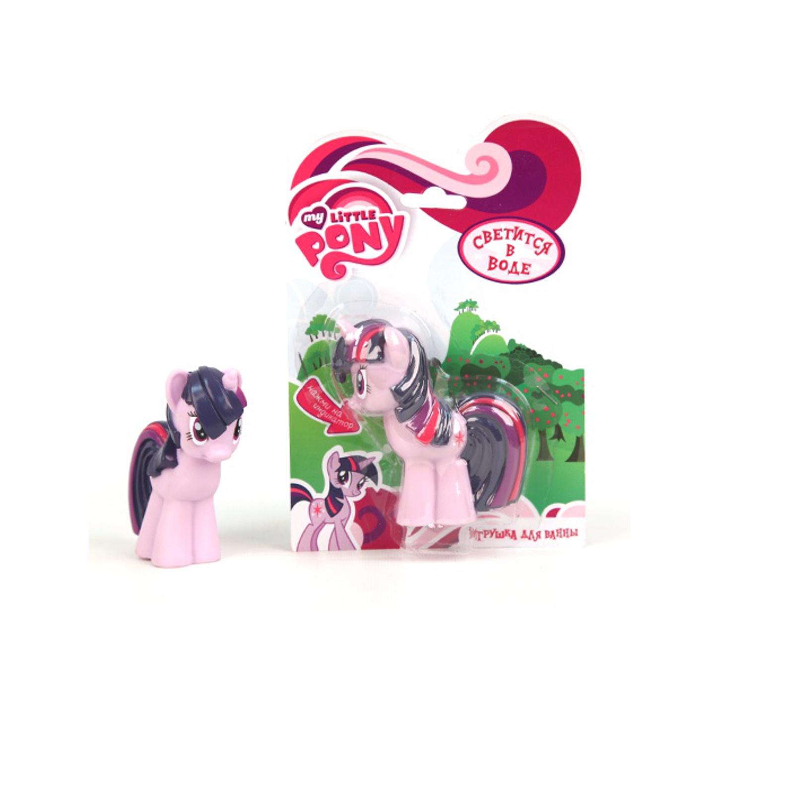 Пластизоль My Little Pony Пони Сумеречная искорка, со светом (в блистере)<br>