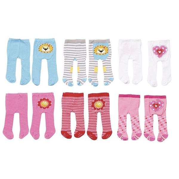 Одежда для кукол Zapf Creation Baby Born Колготки в ассортименте (3 вида)<br>