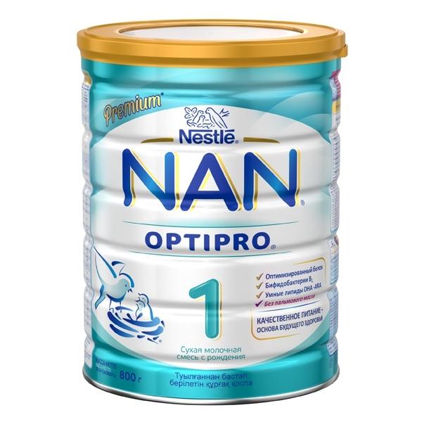 Молочная смесь Nestle NAN Premium OPTIPRO 800 гр №1 (с 0 мес)<br>