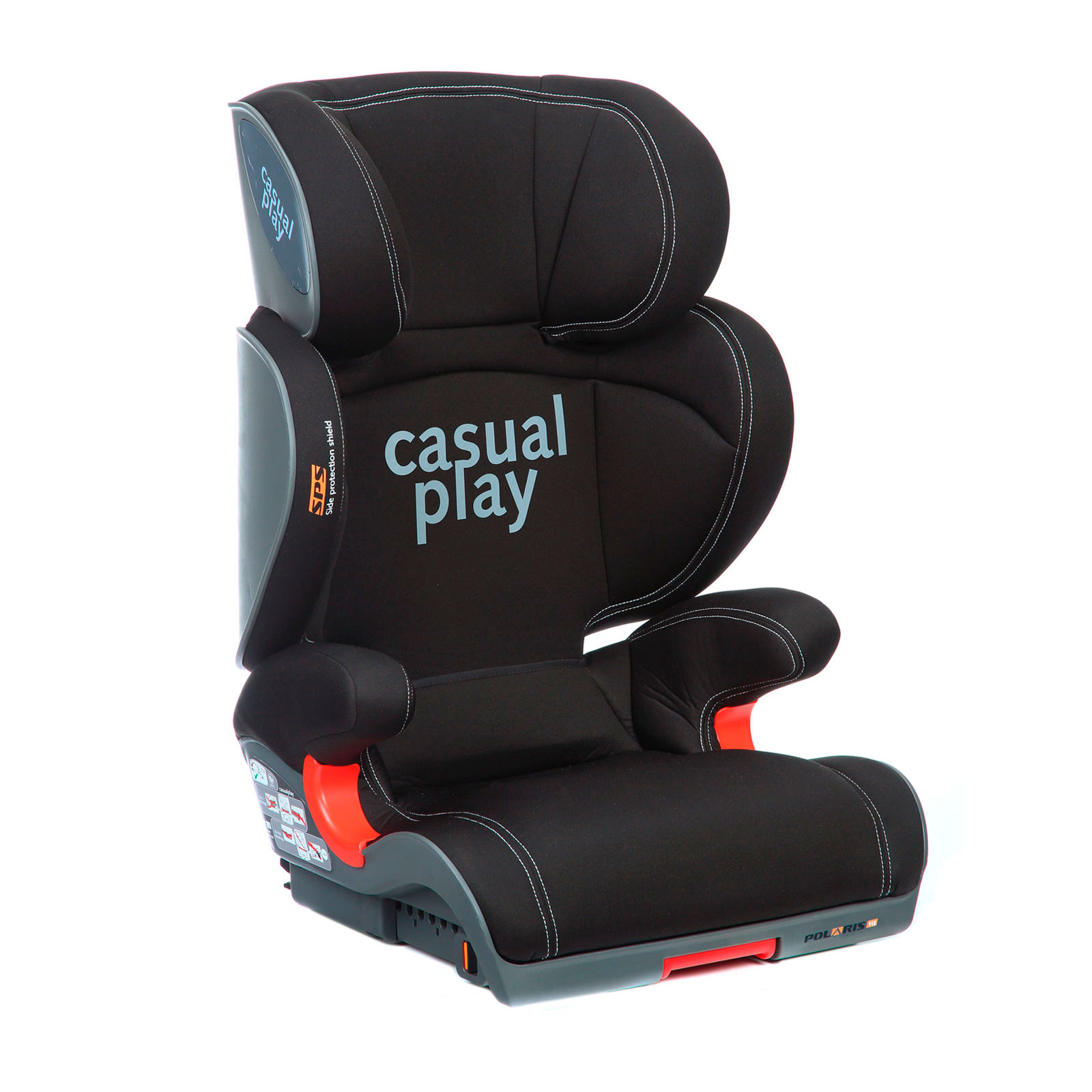 Автокресло Casualplay Polaris FIX Ebony<br>