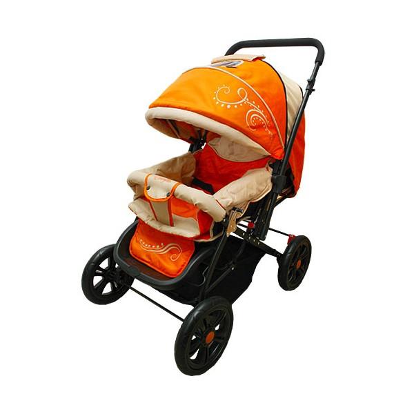 Коляска прогулочная Everflo E-400 luxe Orange<br>