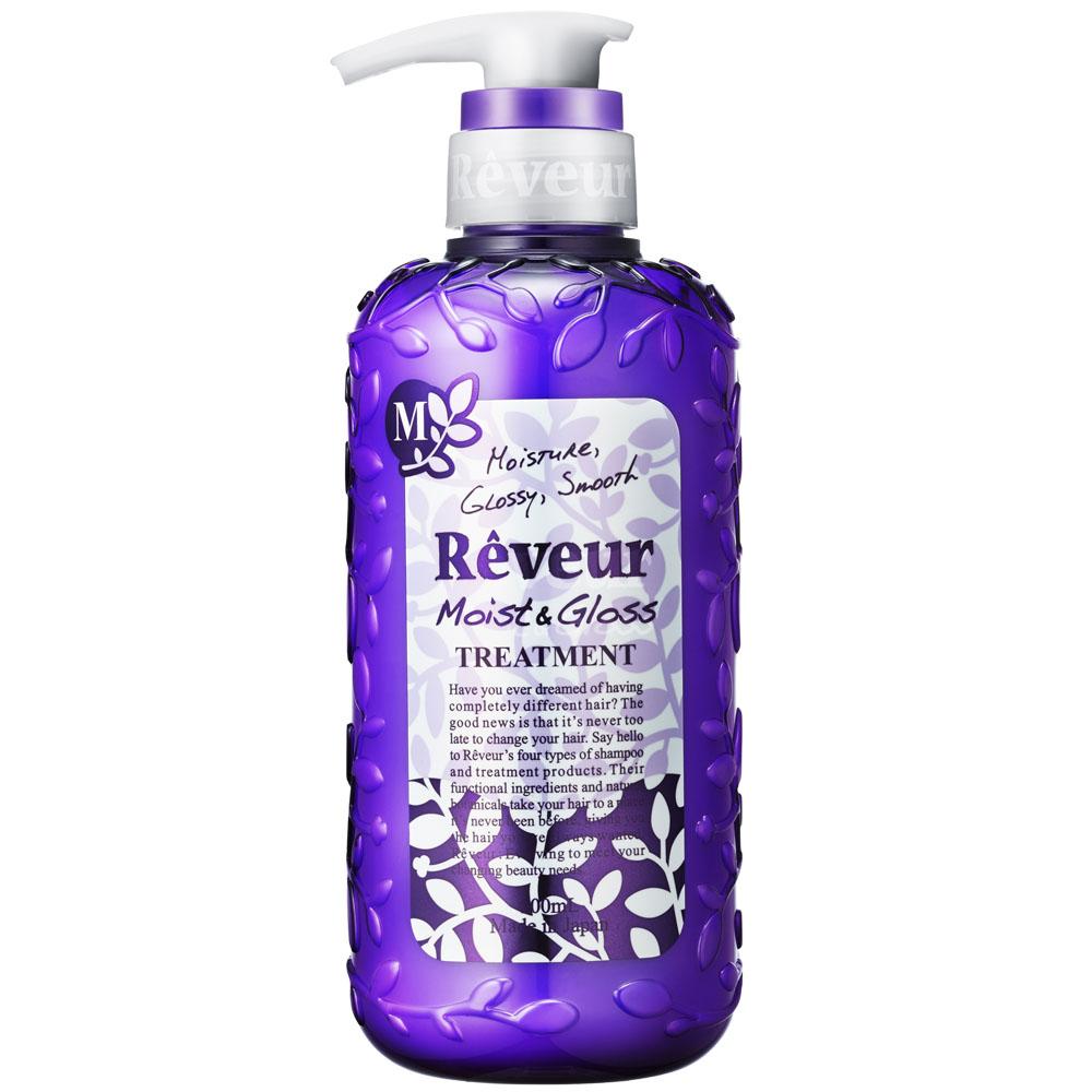 Кондиционер для волос Reveur 500 мл Moist &amp;amp; Gloss (Увлажнение и Блеск)<br>