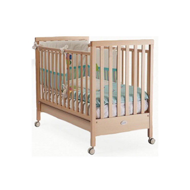 Кроватка Feretti Papa Cote Sleeping Bears 120 х 60 классика Naturale<br>