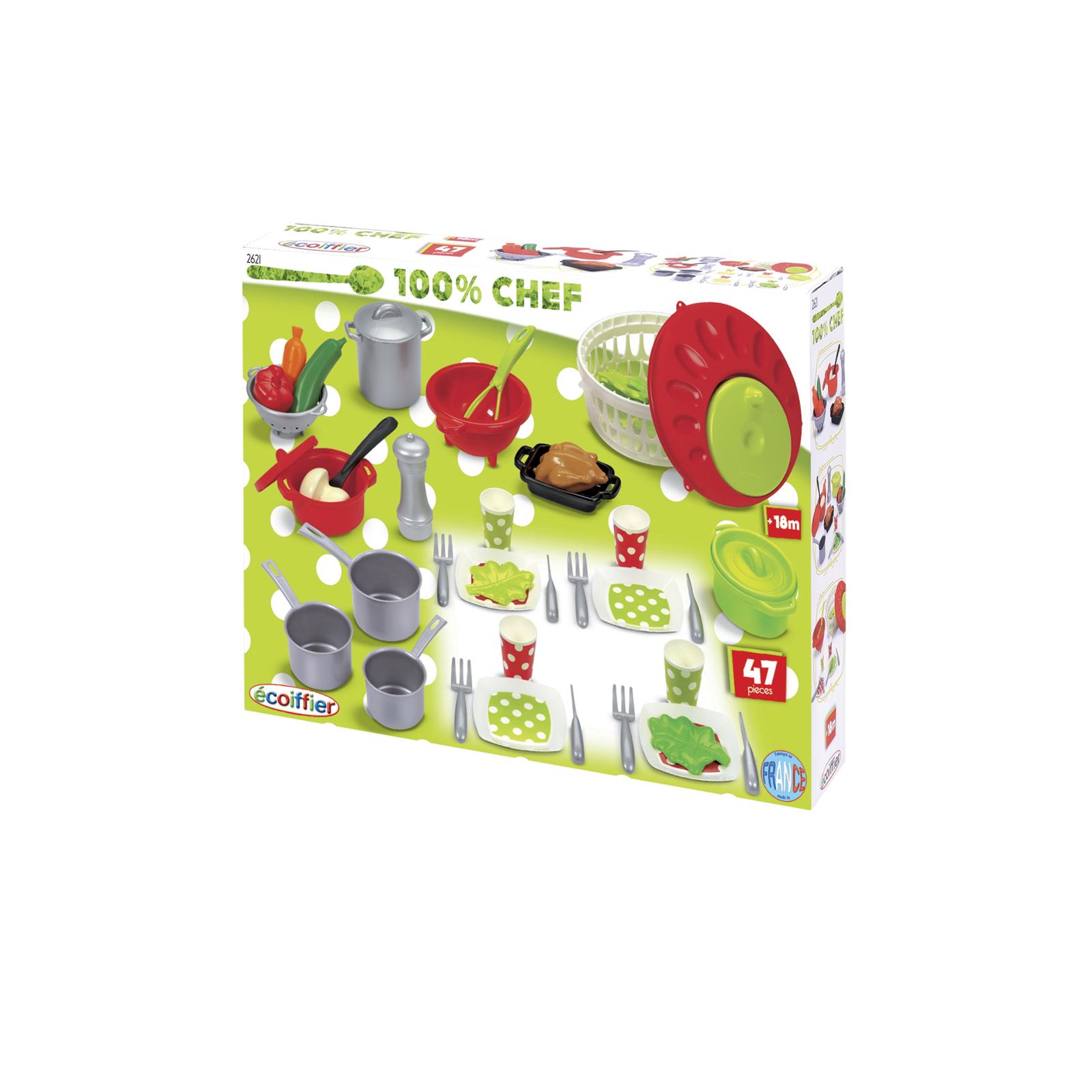 Игровой набор Ecoffier Посуда 100% Chef<br>