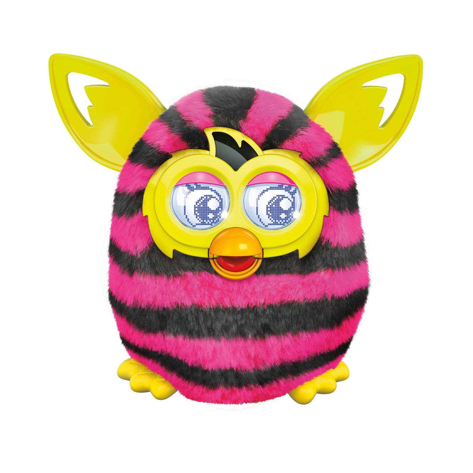 Интерактивная игрушка Furby Boom Теплая волна Розово-черный в полоску<br>