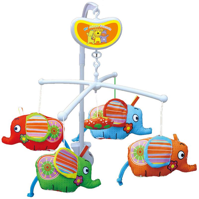 Мобиль Biba Toys музыкальный Слоники<br>