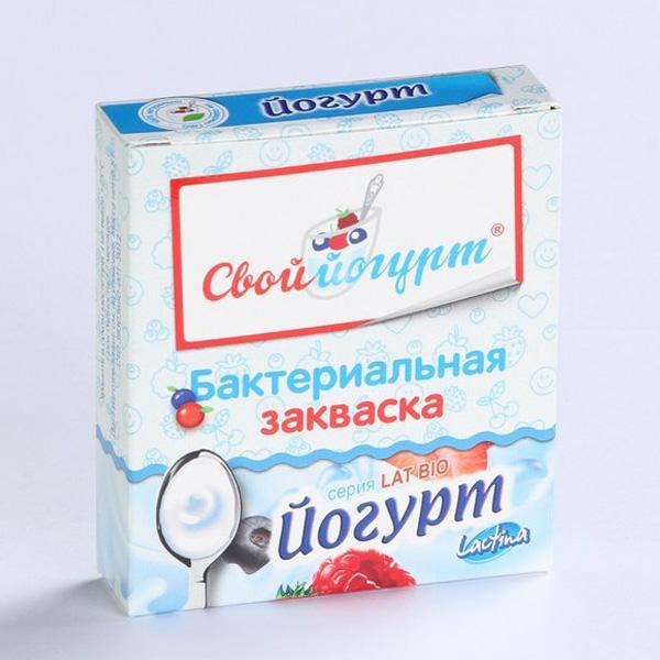 Закваска для приготовления Йогурта (с 1 года) 1 гр 5 шт<br>