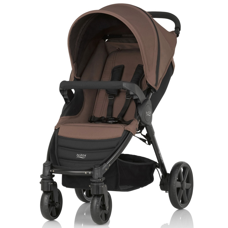 Детская коляска Britax Roemer B-Agile 4 Wood Brown<br>