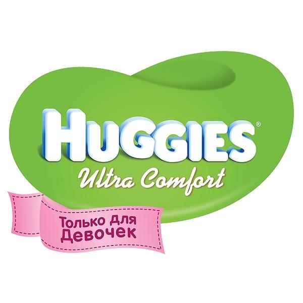 ���������� Huggies Ultra Comfort Conv Pack ��� ������� 12-22 �� (15 ��) ������ 5
