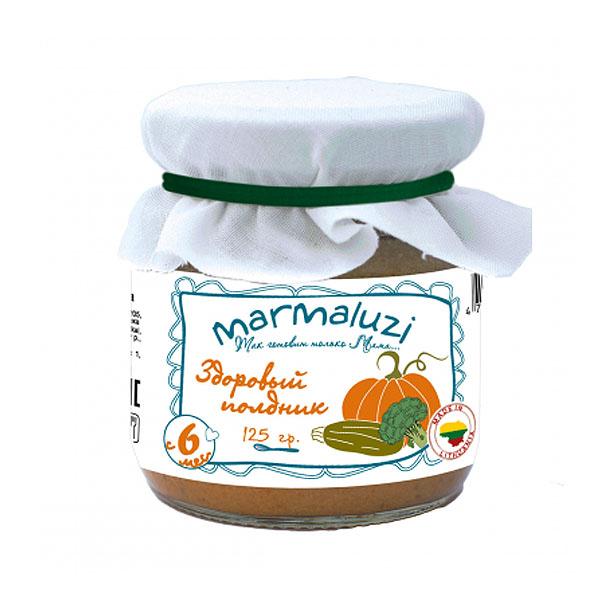 Пюре Marmaluzi овощное 125 гр Здоровый полдник (с 6 мес)<br>