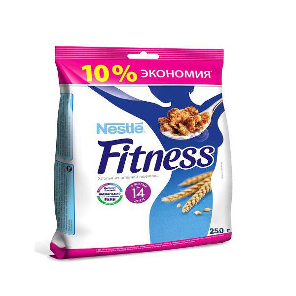 Готовые завтраки Nestle FITNESS Традиционный Пакет 250г<br>
