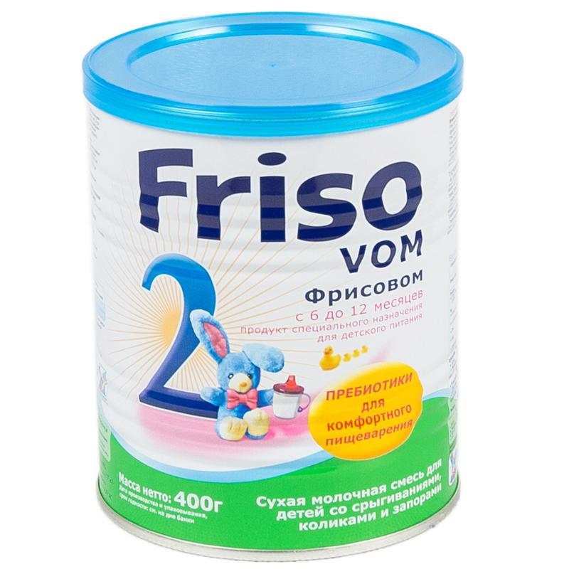 Заменитель Friso Фрисовом 400 гр №2 (с 6 мес)<br>
