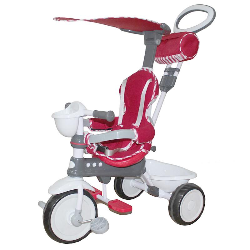 Велосипед трехколесный Mini Trike с пластиковыми колесами 108 Красный<br>