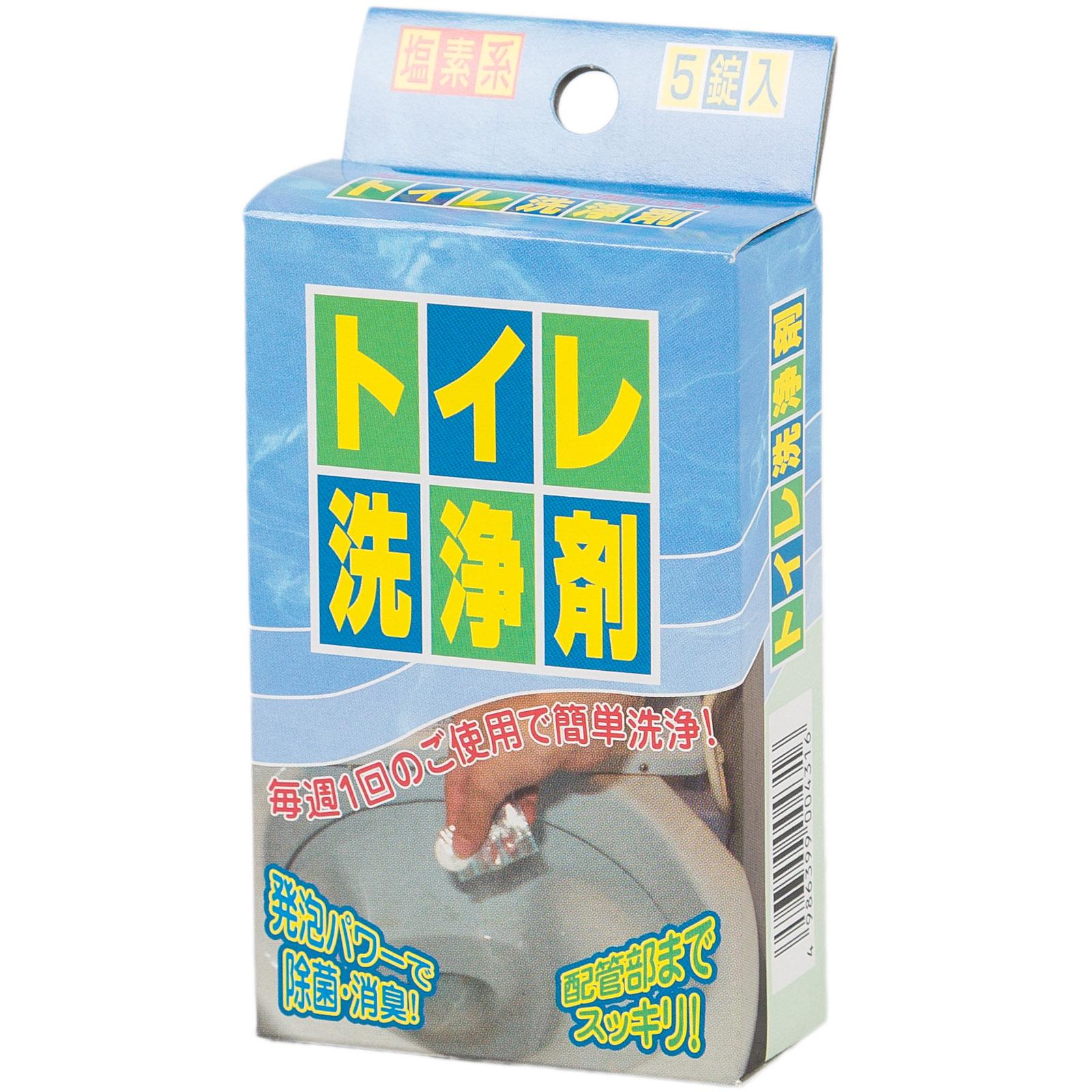 Средство для чистки туалета Nagara 4,5 гр х 5 таблеток<br>