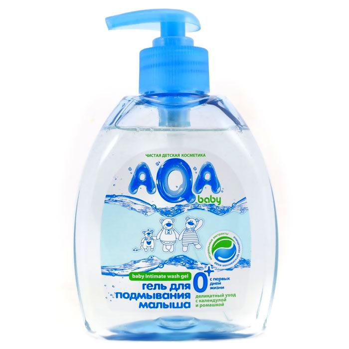 Гель AQA baby для подмывания малыша (с дозатором) 300 мл<br>