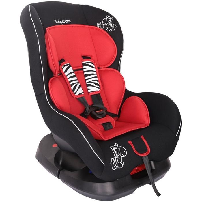 Автокресло Baby Care BC-303 Люкс Зебрик Красный<br>
