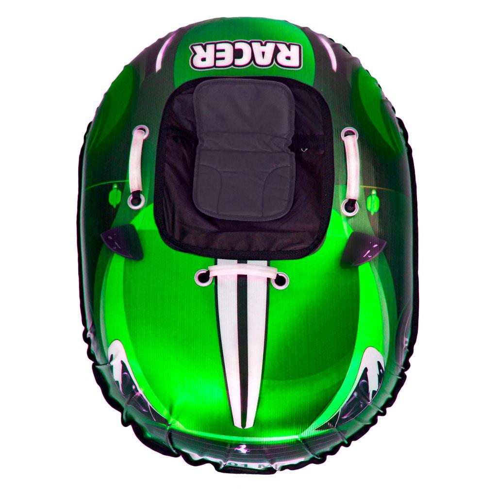 Тюбинг RT 001 Ferrari Snow Racer с сиденьем Зеленый<br>