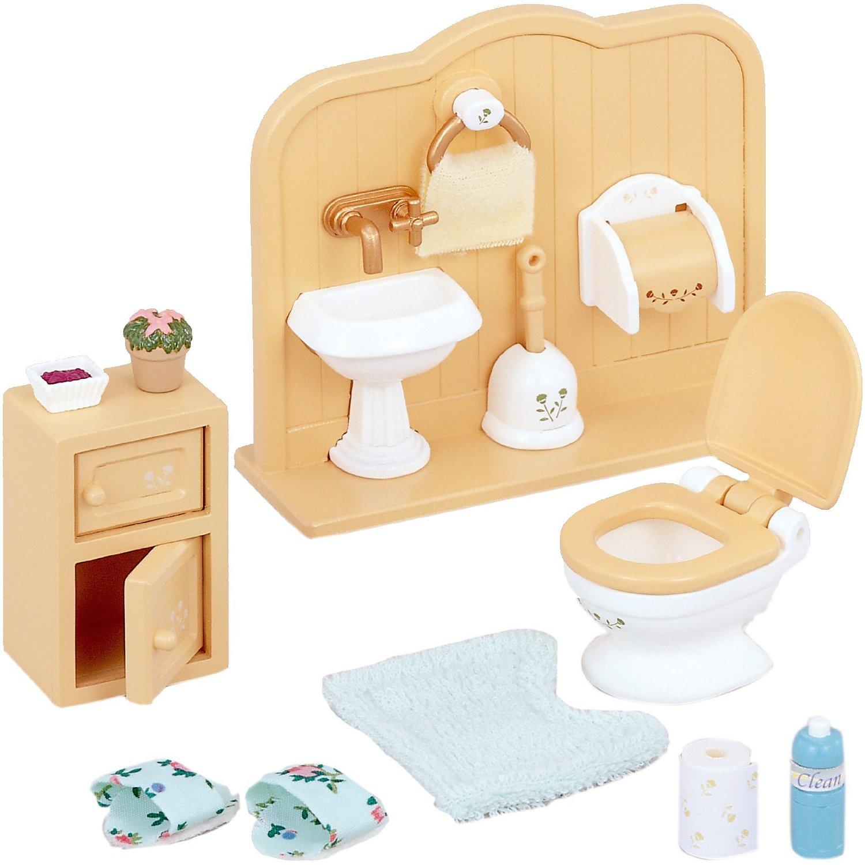 Мебель и аксессуары Sylvanian Families Туалетная комната<br>