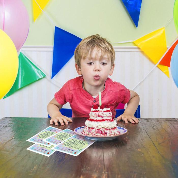 Набор карточек Cute'n Clever Мои пожелания в день рождения (веселая компания)