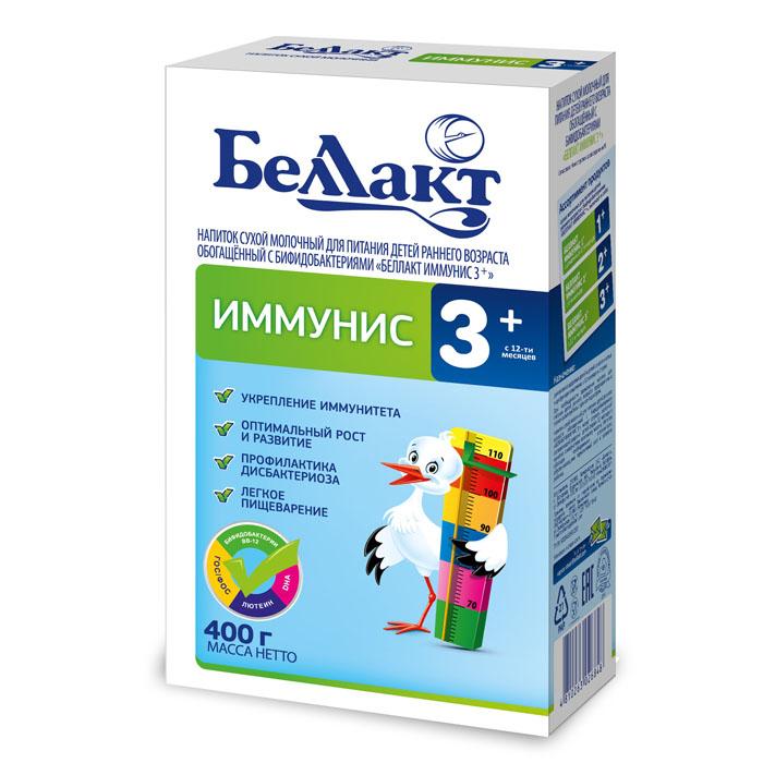 Заменитель БЕЛЛАКТ Иммунис 400 гр № 3 (с 12 мес)<br>