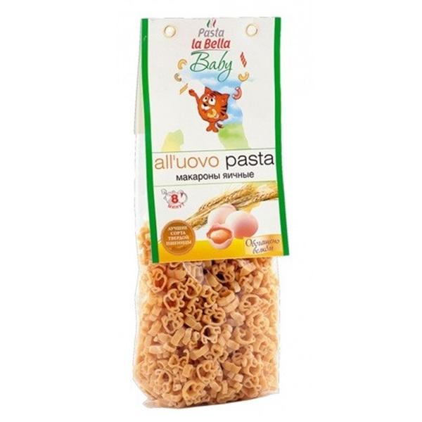 Макароны La Bella baby 250 гр с 18 мес Яичные