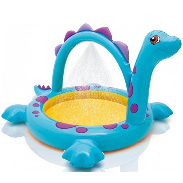 Бассейн INTEX Динозаврик, с душем<br>