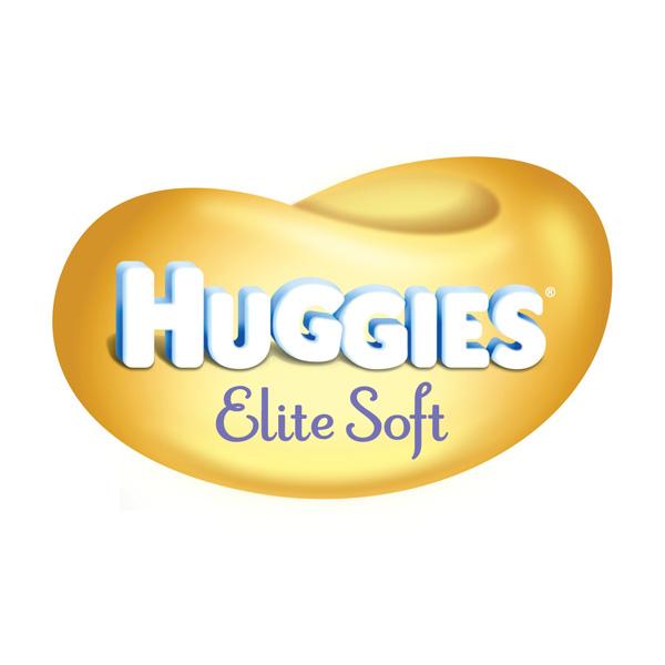 ���������� Huggies Elite Soft Mega Pack �� 5 �� (84 ��) ������ 1