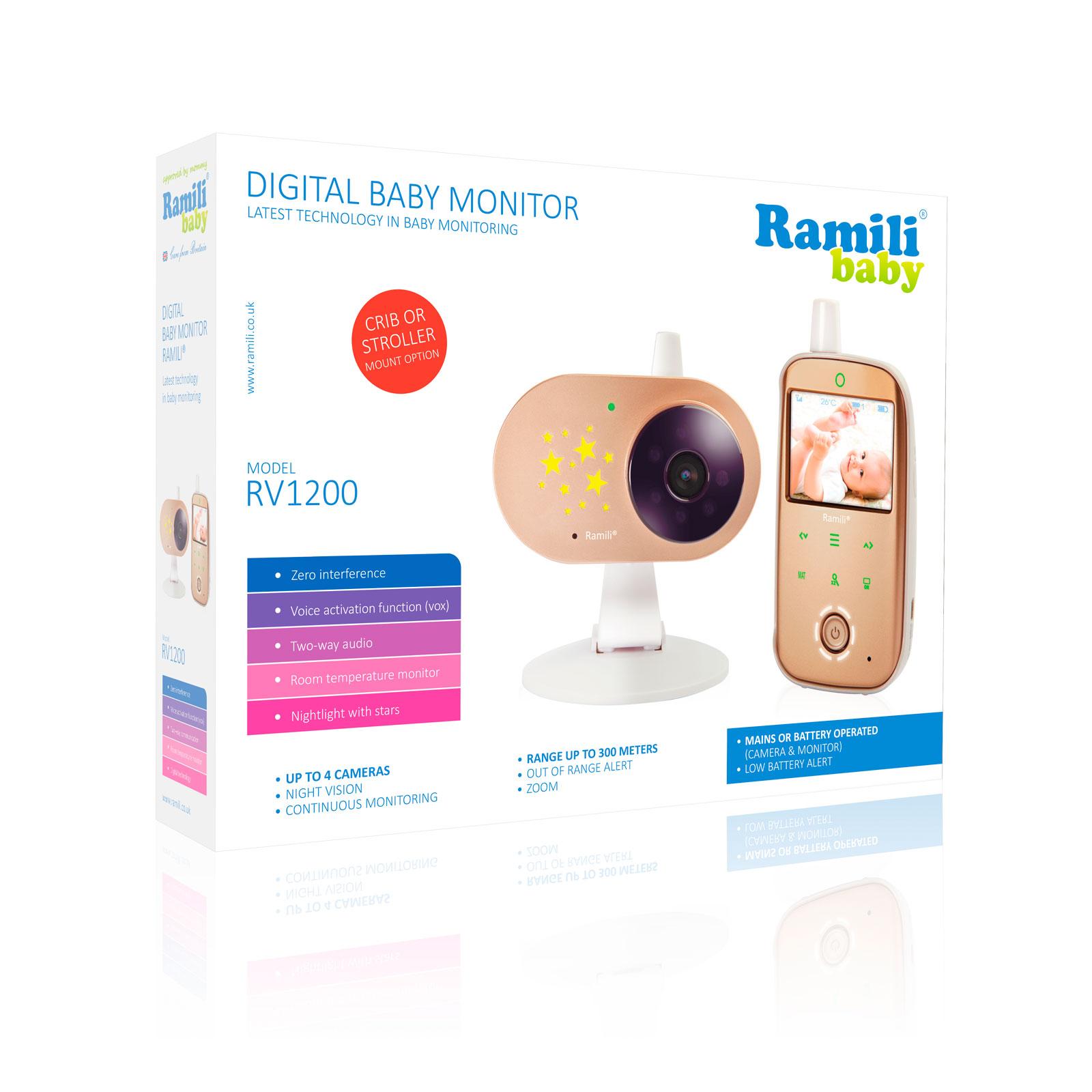 Видеоняня Ramili Baby RV1200<br>