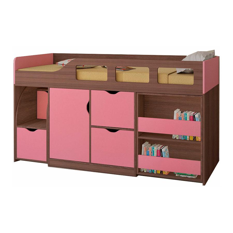 Набор мебели РВ-Мебель Астра 8 Дуб шамони/Розовый<br>