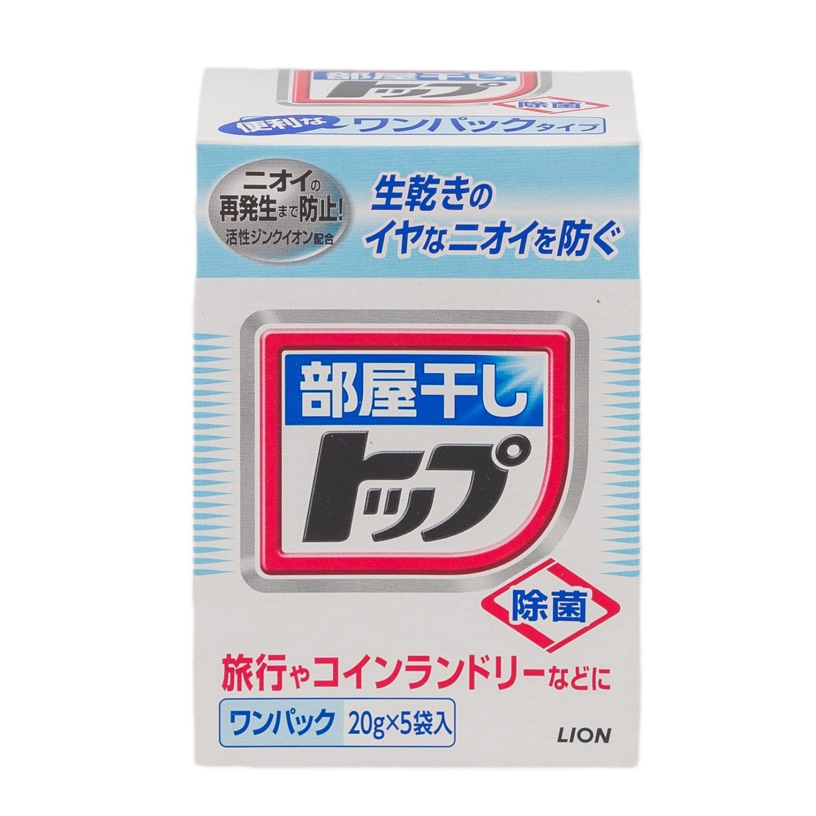 Стиральный порошок Lion ТОР 20 гр.*5 Сушка в помещении (мягкая упаковка)<br>