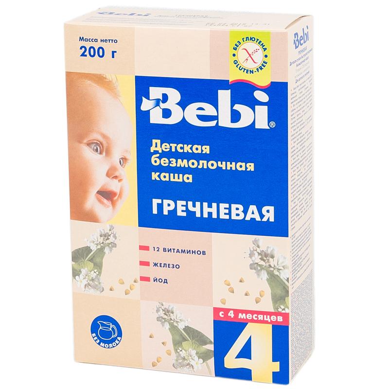 Каша Bebi безмолочная 200 гр Гречневая (с 4 мес)<br>