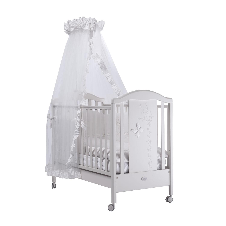 Кроватка Feretti Privilege 125х65 классика Bianco/White<br>