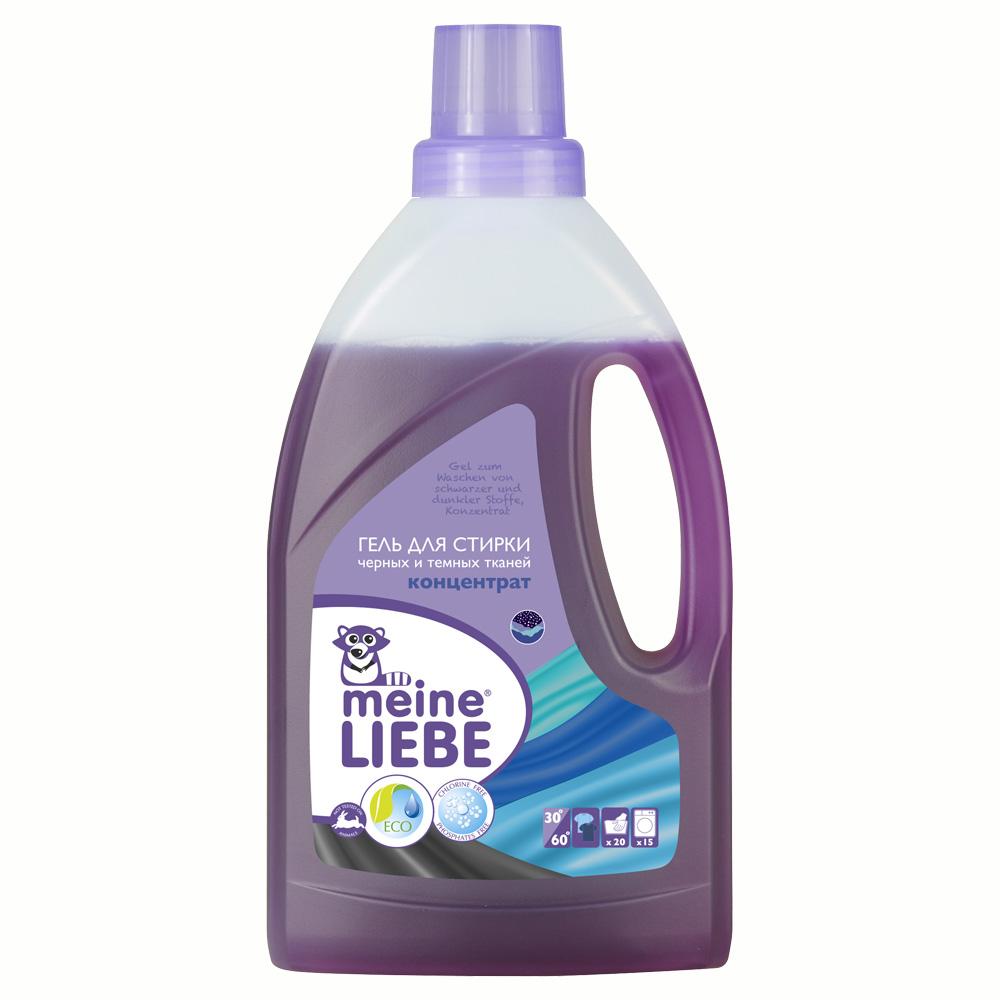 Гель Meine Liebe для стирки 800 мл. (концентрат) Для черных и темных тканей<br>
