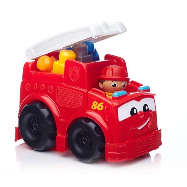 MEGA BLOKS First Builders Пожарная машина Фредди<br>