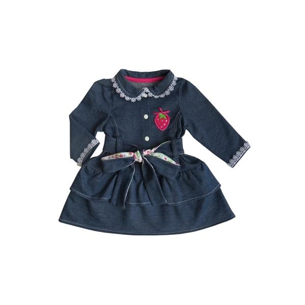 Платье Soni kids Джинсовый садик рост 74 синий<br>
