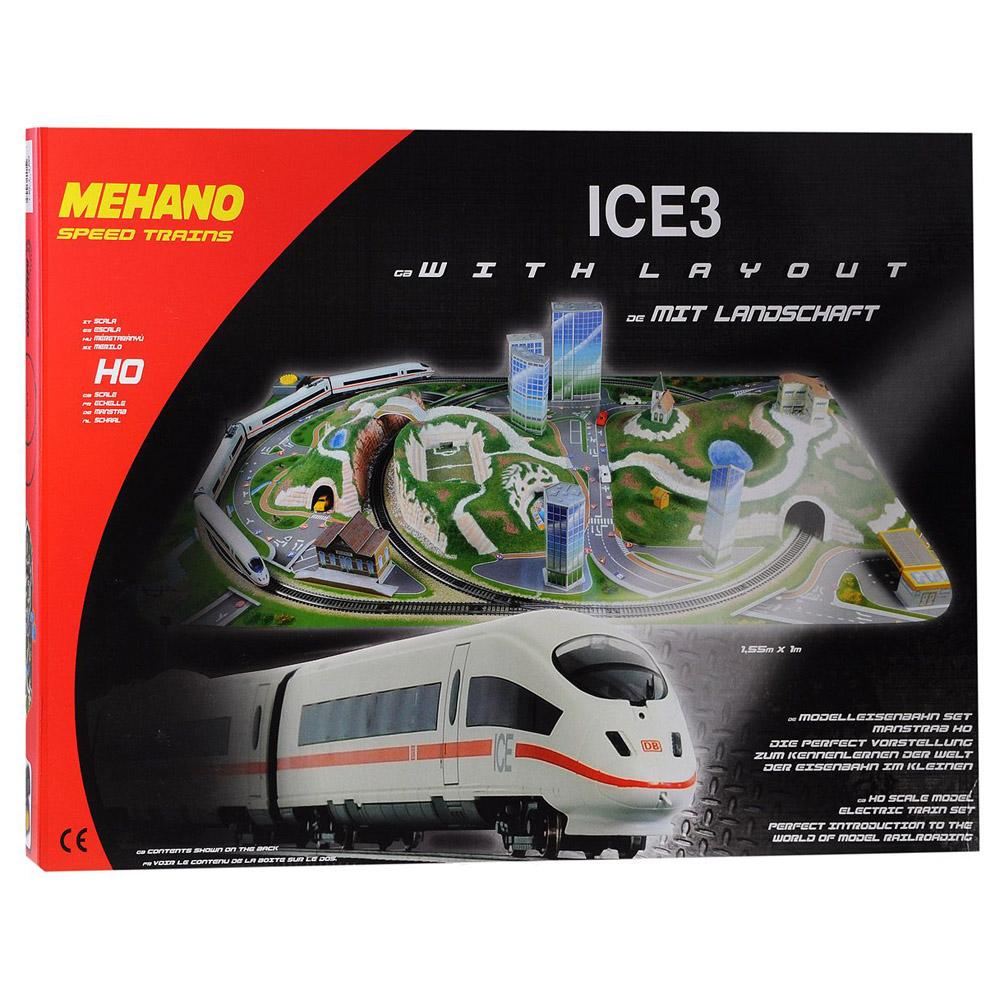 Железная дорога Mehano ICE 3  с ландшафтом (Сапсан)<br>