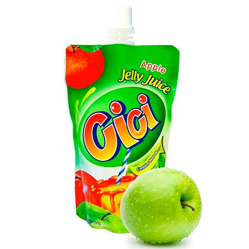 Желе CI - CI 150 гр (пауч) с кусочками кокоса и вкусом яблока<br>