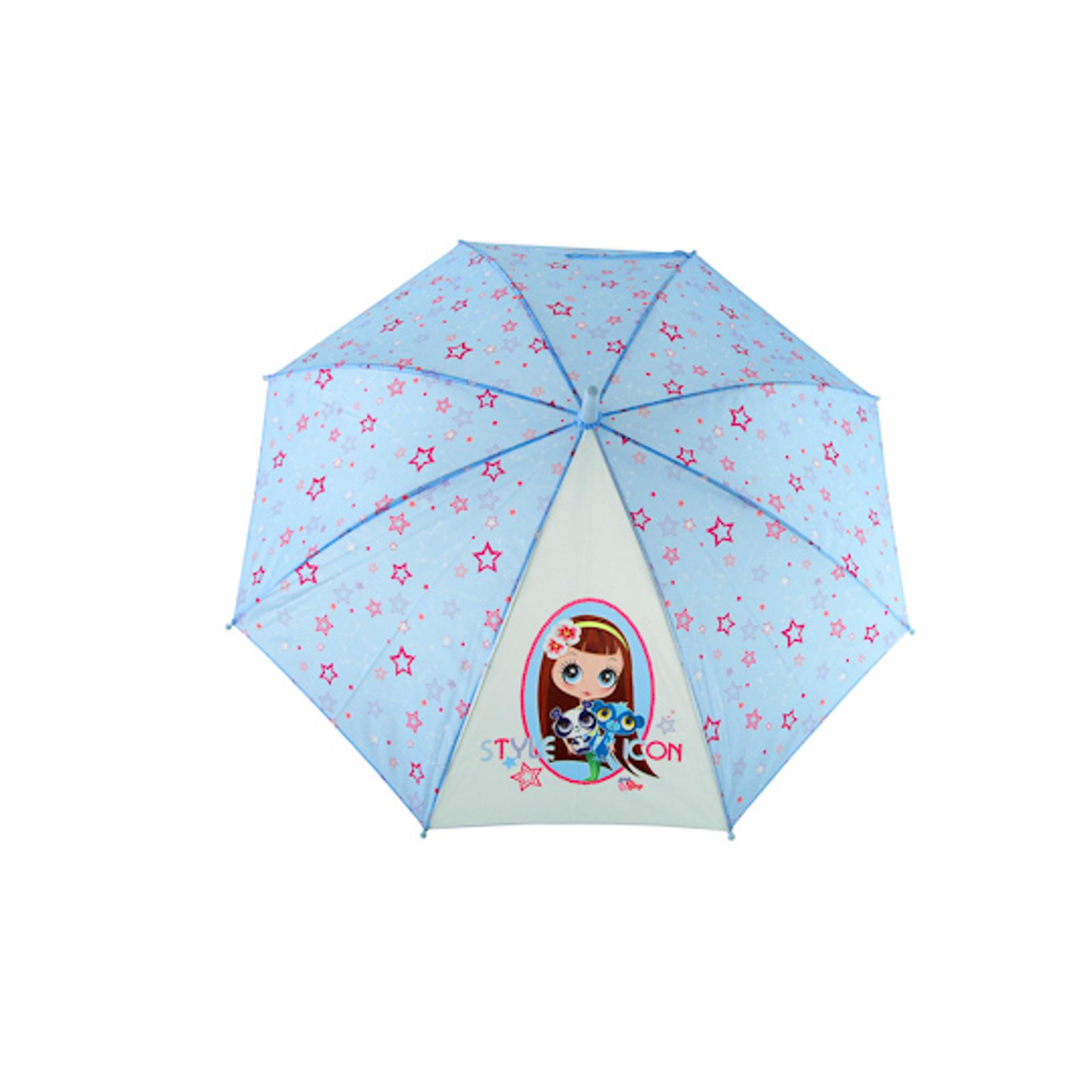 Зонт Littlest Pet Shop Голубой со звёздами 18 см.