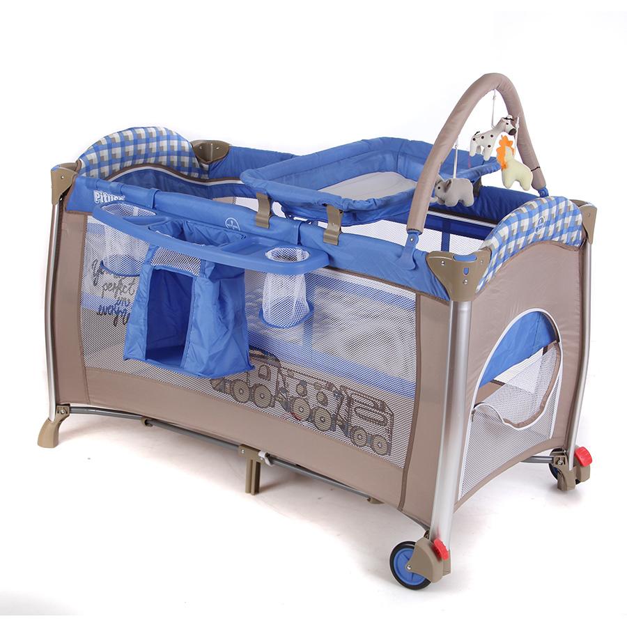 Манеж-кровать Pituso Flora Boys Toys<br>