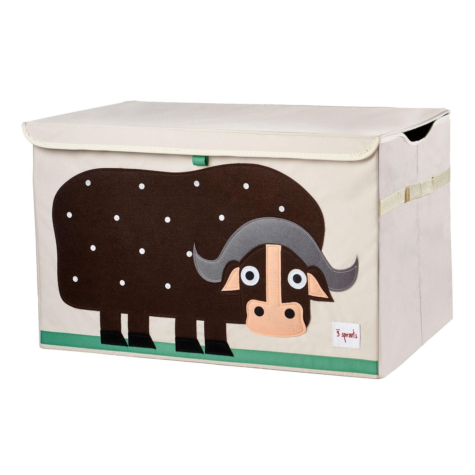 Сундук для хранения игрушек 3 Sprouts Буйвол (Brown Buffalo SPR906) Арт. 00017