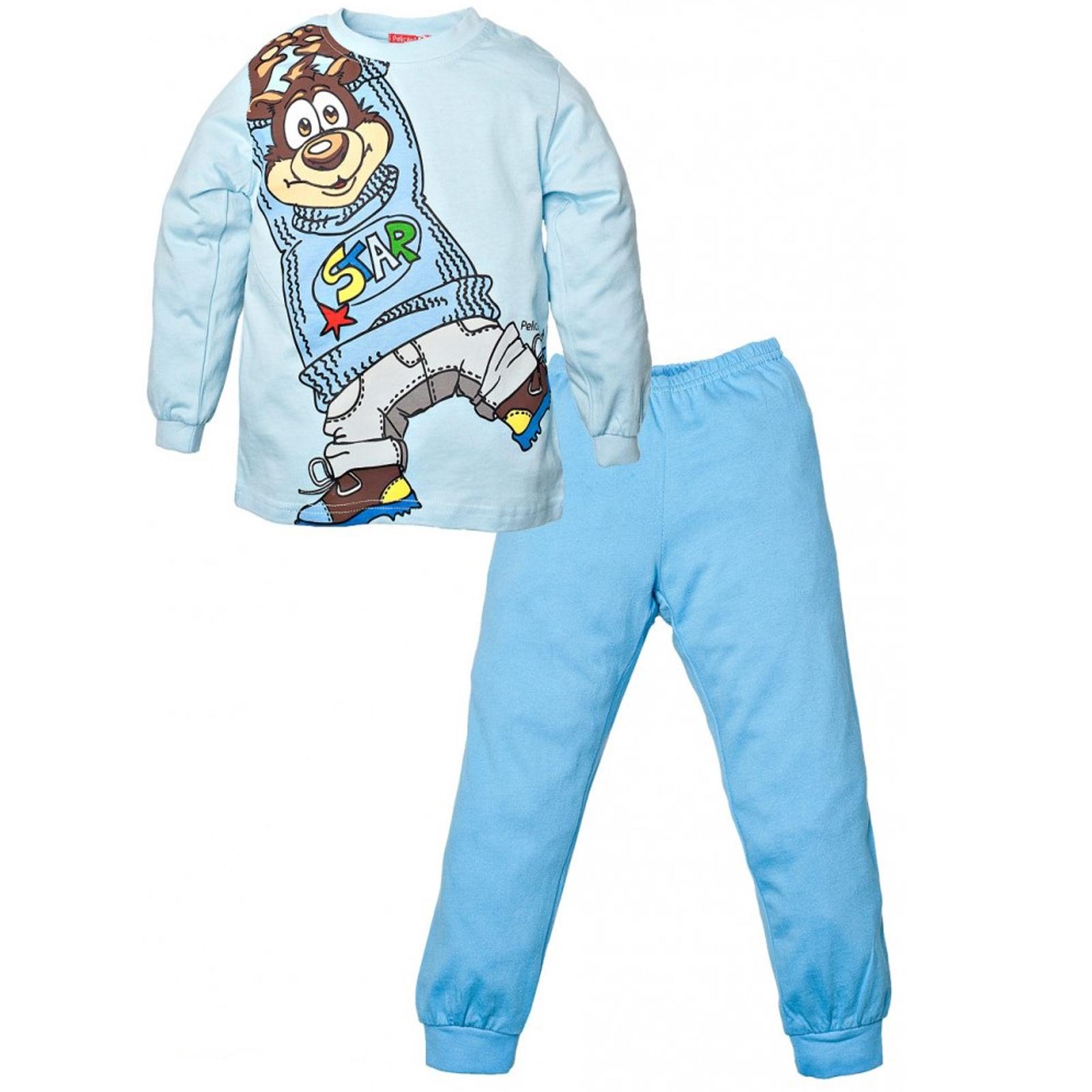 Пижама Pelican цвет Голубой BNJP298 возраст 5 лет