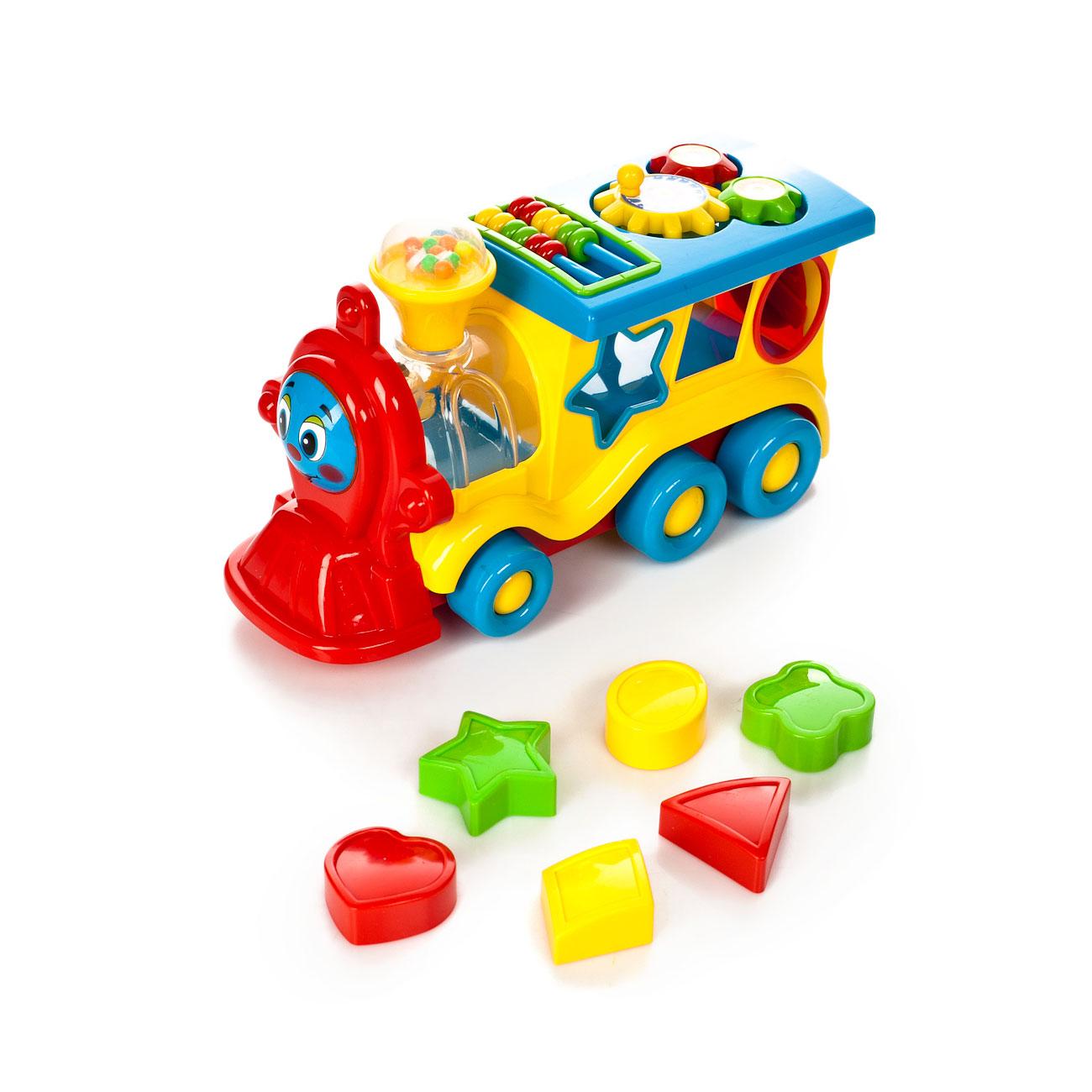 Развивающая игрушка Умка Обучающий паровозик<br>