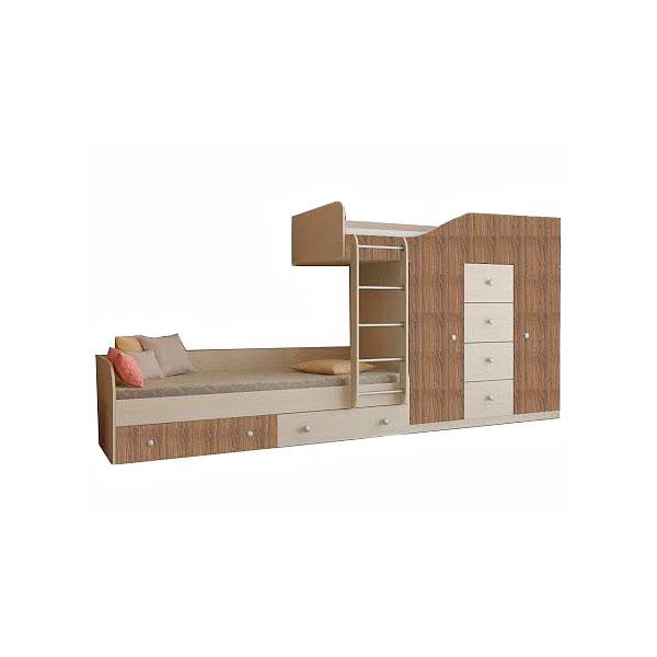 Набор мебели РВ-Мебель Астра 6 Дуб молочный/Дуб шамони<br>