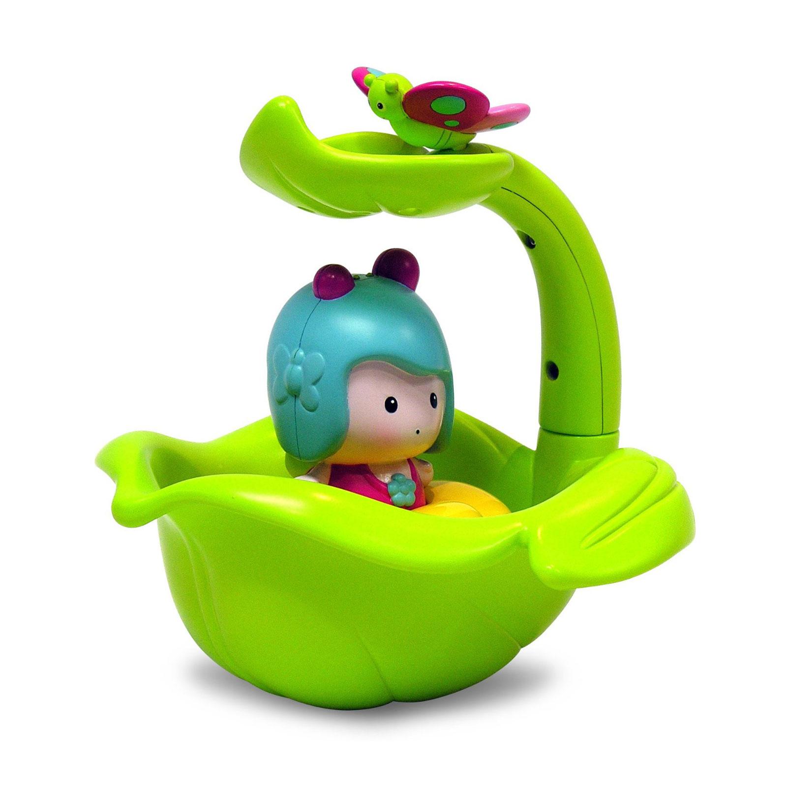 Игрушка для ванны Ouaps Мими и волшебная лодка интерактивная от 1 до 3 лет<br>