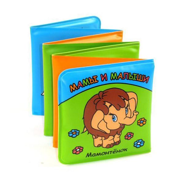 Книга-раскладушка Умка для ванной Мамы и Малыши Мамонтенок<br>