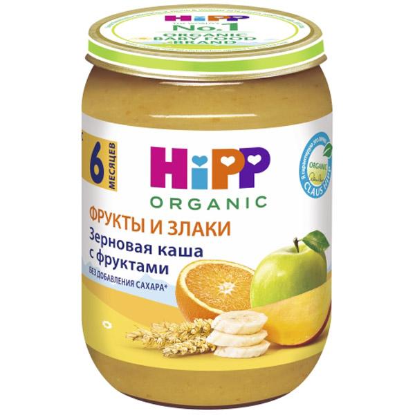 Каша Hipp зерновая с фруктами 190 гр Зерновая с фруктами (с 6 мес)<br>