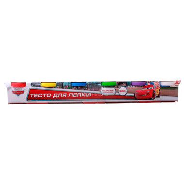 Набор Multiart Тесто для лепки Disney Тачки 6 цветов х 50 грамм