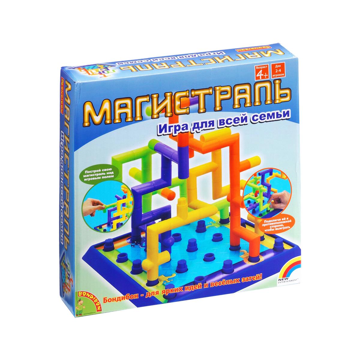 Настольная игра Bondibon Магистраль (3Д игра)<br>