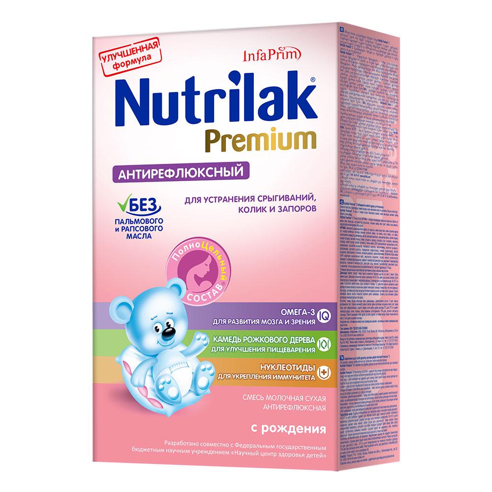 Заменитель Nutrilak Premium Антирефлюксный 350 гр Антирефлюксный (с 0 мес)
