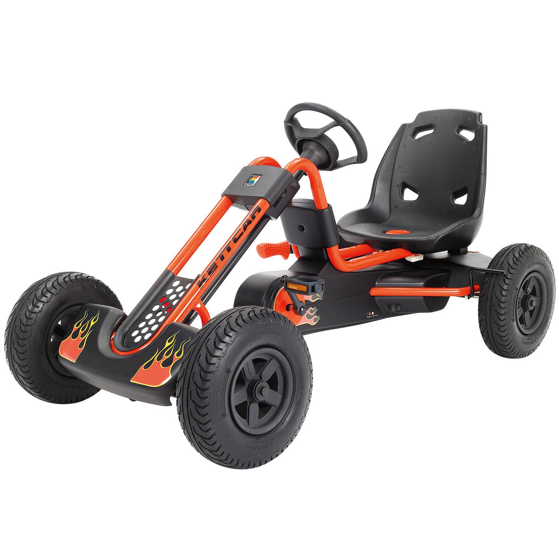 Педальная машина Kettler Кетткар Indianapolis Air Оранжевая<br>